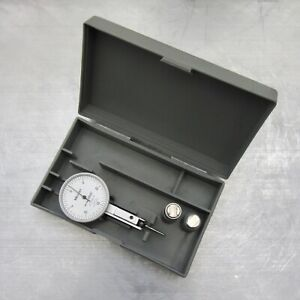 Calibrtd Mitutoyo Japan 513 402 Jeweld Dial Test Indicator 0005 Perfct W report