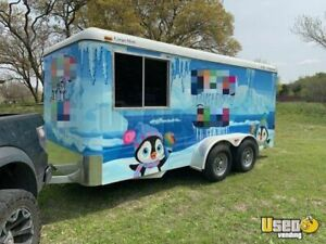 2017 16 Used Cargo Mate Shaved Ice Concession Trailer For Sale In Texas