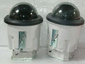 Lot Of 2 Bosch Security Vg4 sbim Etc Autodomes 2 5