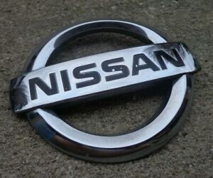 Nissan Maxima Grill Emblem Badge Decal Logo Grille Oem Factory Genuine Stock