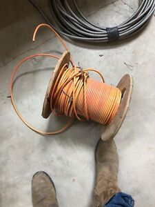 200 ft Orange 6 Thhn Stranded Electrical Wire