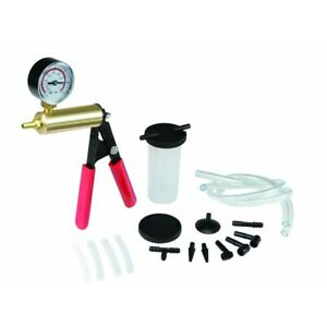 Brake Fluid Bleeder Hand Held Vacuum And Pressure Pump Tester Kit usa Seller