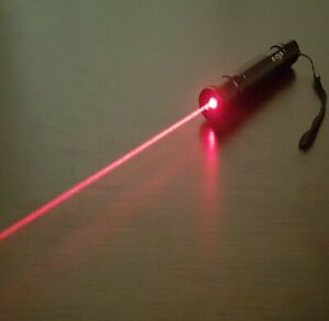 Powerful Red Laser Pointer Pen Focusable Burn Beam 650nm Wicked High Power Lazer