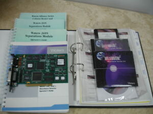 Waters Pci Bus Lace Half Card W Millennium 32 Software For 2695 2487 Empower