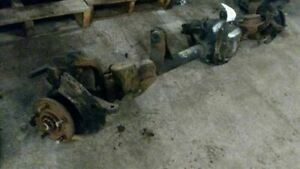 Front Axle Assembly Without Abs 3 55 Ratio Fits 90 99 Cherokee 549677