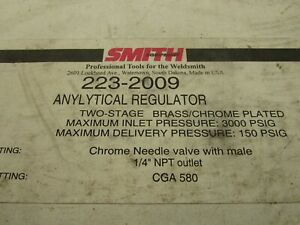 Smith 223 2009 Anylytical Regulator