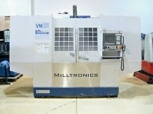 Milltronics Vm 25 Cnc Vertical Machining Center Mill Coolant Through Spindle Vf