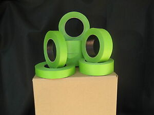 48 Rolls1 x 60 Yrds Green Painters Masking Tape Quick Ship Usa Made Blems