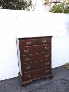 Solid Mahogany Chest Of Drawers By James Mccreery And Co New York 8095