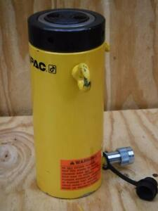 New Cll508 Enerpac 50 Tons Single Acting Lock Nut Hydraulic Ram Cylinder