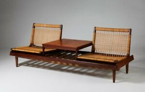 Hans Olson For Bramin Model 161 Daybed Sofa Modular Mid Century Floor Chairs