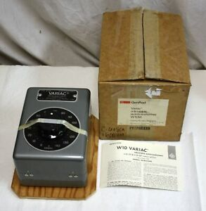 New Genrad W10m Variac 0 140v 10a Factory Boxed General Radio Autotransformer
