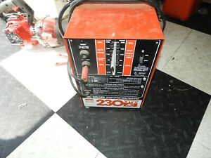 Vintage Montgomery Ward Power Kraft 230 Amp Ac Ark Welder