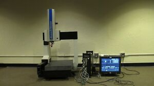 Brown Sharpe Microval Manual Cmm Coordinate Measuring Machine System