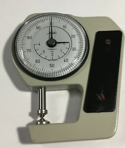 Swiss Precision Instrument Kafer Pocket Dial Thickness Gage 0 400 001