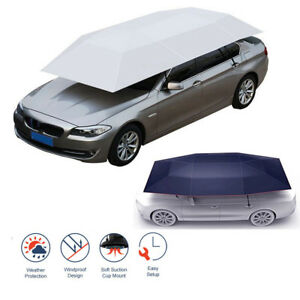Automatic Car Umbrella Tent Universal Protective Cover Portable Sunshade Sunroof