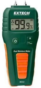 Extech Instruments Mo55 Combination Pin And Pinless Moisture Meter
