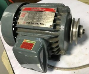 Gold Star Gtfoa Electric Ac Motor 1 2 Hp 4kw 220 380vac 1730 Rpm 3 8 3p