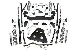 Rou 787 22 Rough Country 4in 07 11 Jeep Jk X series Long Arm Lift Kit 4 Door