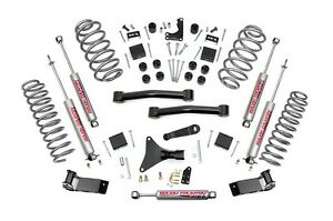 Rou 698 20 Rough Country 99 04 Jeep Wj Grand Cherokee 4in Suspension Lift Kit
