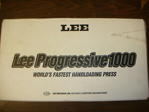 Lee Pro 1000 Progressive 3-Hole Reloading Press Kit for .380 Auto 90641