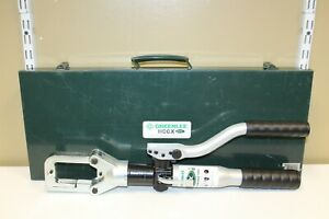 Greenlee Hccx 6 Ton Hydraulic Crimper Crimping Tool K22