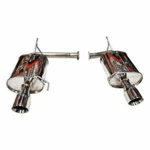 Tanabe T70074 Medalion Touring Dual Muffler Exhaust For 02 03 Acura Cl Type S