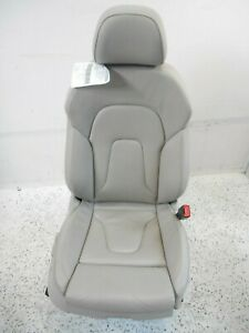 08 17 Audi A5 S5 Coupe Passenger Right Front Sport Seat Assembly W Memory Oem