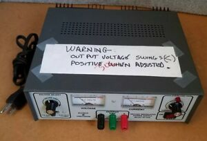 Elenco Precision Xp 650 Deluxe Regulated Adjustable 40 Volt Dc Power Supply