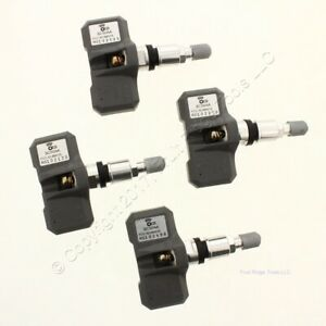 New Set Of 4 Orange Electronic Sc50aa Tpms Sensor For 05 06 Navigator Expedition