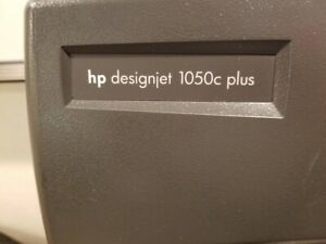 Large Format Inkjet Printer plotter Hp Designjet 1050c Plus 36