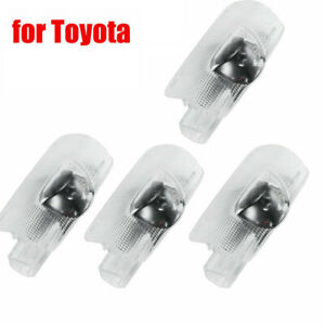 Lot4 Car Door Courtesy Led Projector Ghost Shadow Light For Toyota Welcome Light