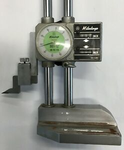 Mitutoyo 192 116 Dial Height Gage With Digital Counter 0 12 Range 001