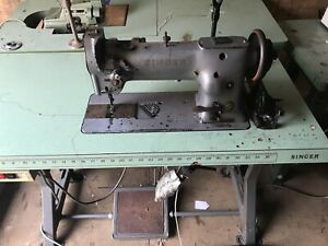 Singer 11g156 Walking Foot Industerial Sewing Machine Commercial Heavy Duty