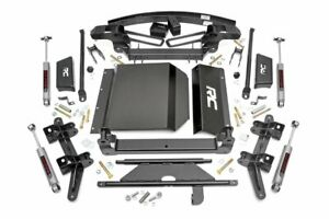 Rou 276 20 Rough Country 88 98 Chevy K1500 95 99 Tahoe 6in Suspension Lift Kit