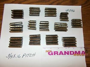 Landis Thread Chasers 3 4 X 16 Pitch used