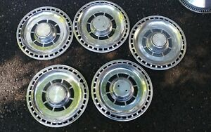 Vintage 1969 69 Chevy Chevrolet Chevelle Hubcaps Wheel Covers 14 Oem Set Of 5