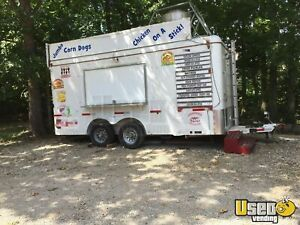 2011 8 5 X 16 Used Food Concession Trailer For Sale In Oklahoma