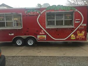 2014 8 5 X 24 Food Concession Trailer Mobile Kitchen For Sale In Oklahoma
