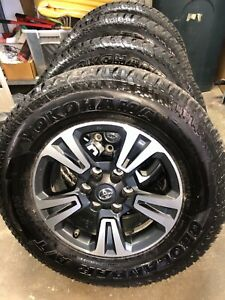 17 Tacoma Trd Sport Wheels Tires