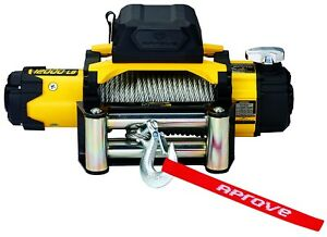 Aprove 12000 Lb Dual Speed Winch With Steel Cable