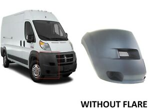 For 2014 2018 Ram Promaster 1500 2500 3500 Right Passenger Front Bumper Cover