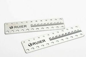 10 Pcs Dental Endo Rulers Endodontic Span Measure Scale Ruler