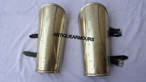 300 Movie Brass Antique King Finish Arm Guard Set Spartan Armoury Nauticals