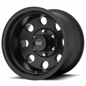 1 New 17x8 0 American Racing Baja Satin Black 5x139 7 Wheel Rim