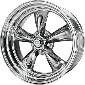 1 New 17x8 25 American Racing Torq Thrust Ii 1 Pc Polished 5x114 3 Wheel Rim