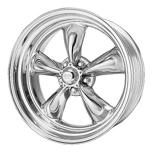 1 New 17x7 0 American Racing Torq Thrust Ii 1 Pc Polished 5x120 65 Wheel Rim