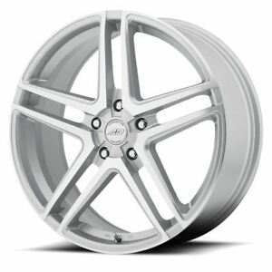 1 New 17x7 5 42 American Racing Ar907 Bright Silver 5x114 3 Wheel Rim