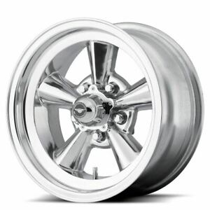 1 New 17x8 0 American Racing Tt O Polished 5x120 65 Wheel Rim