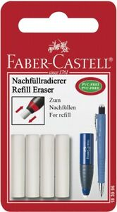 Faber castell Mechanical Pencil Erasers 4 Erasers Suitable For Poly Matic Models